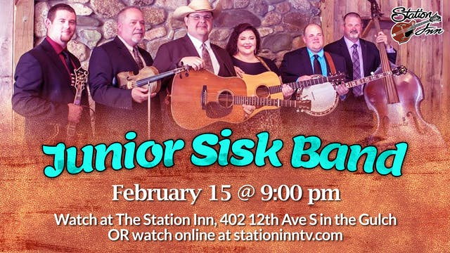 Junior Sisk Band | February 15, 2020