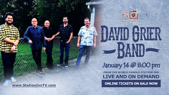 The David Grier Band | January 14, 2021
