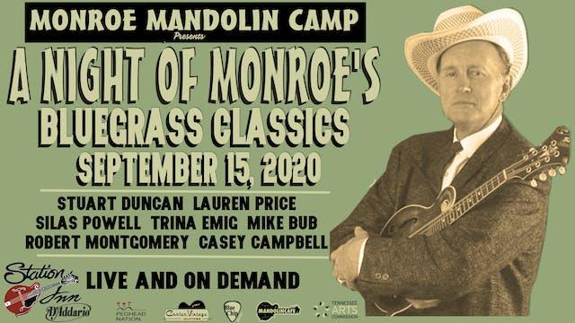 Monroe Mandolin Camp | September 15, ...