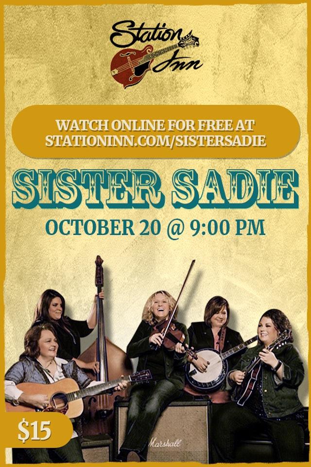 Sister Sadie | October 20th, 2018