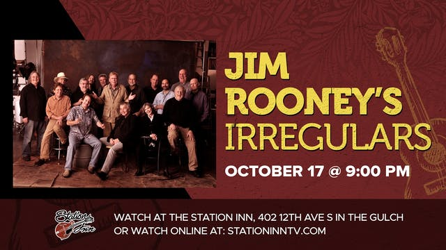 Jim Rooney Irregulars (Live recording)