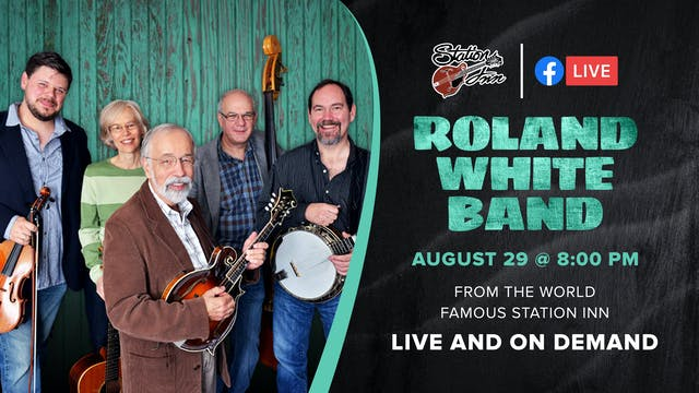 Roland White Band (Live Online)