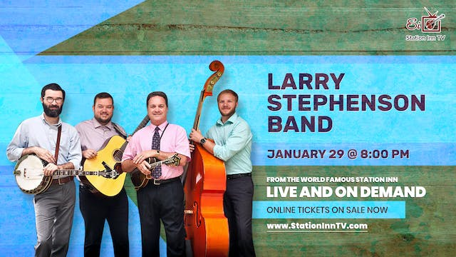 The Larry Stephenson Band | January 2...
