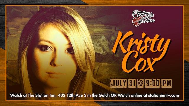 Kristy Cox (Live recording)