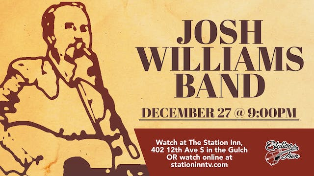 Josh Williams Band featuring Dan Tymi...