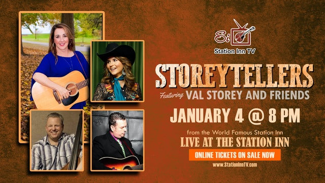 Storeytellers Featuring Val Storey and Friends | January 4, 2021