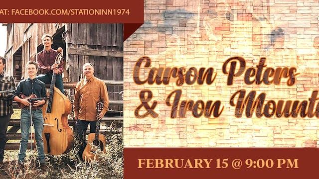 Carson Peters & Iron Mountain | Febru...