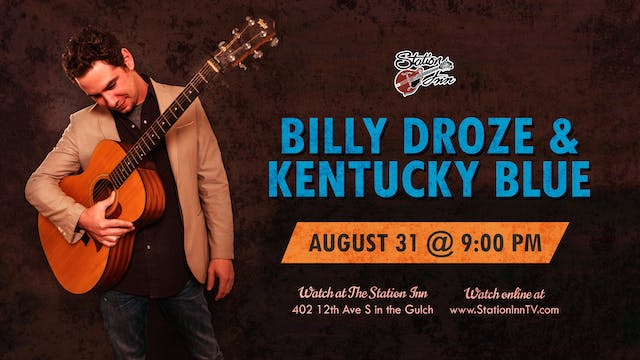 Billy Droze & Kentucky Blue (Live Rec...