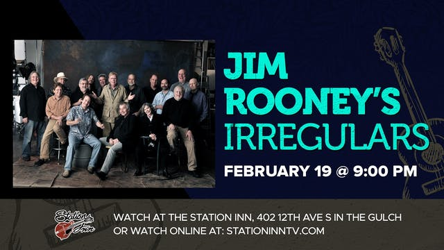 Jim Rooney's Irregulars (Live recording)