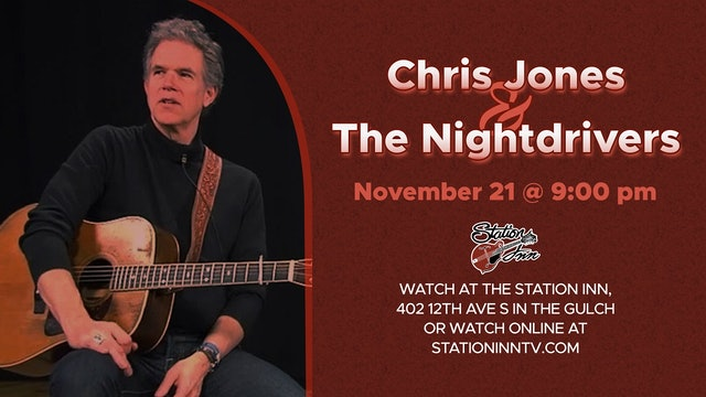 Chris Jones & The Nightdrivers (Live recording)