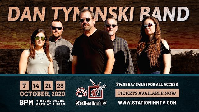 Dan Tyminski Band, October 28