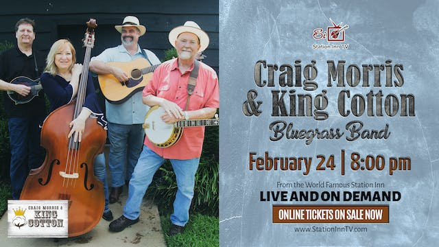King Cotton Bluegrass Band | February...
