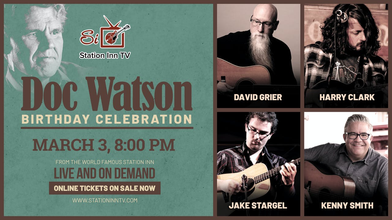Doc Watson Birthday Celebration | March 3, 2021