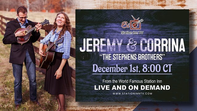 "Jeremy & Corrina ""The Stephens Brothe..."