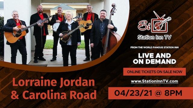 Lorraine Jordan and Carolina Road | April 23, 2021