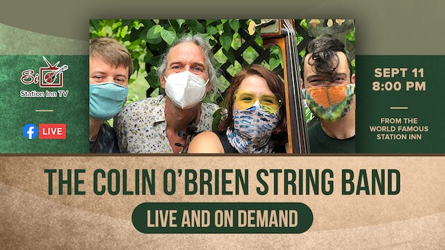 The Colin O'Brien String Band | Septe...
