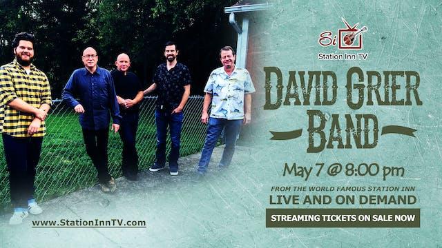 David Grier Band | May 7, 2021
