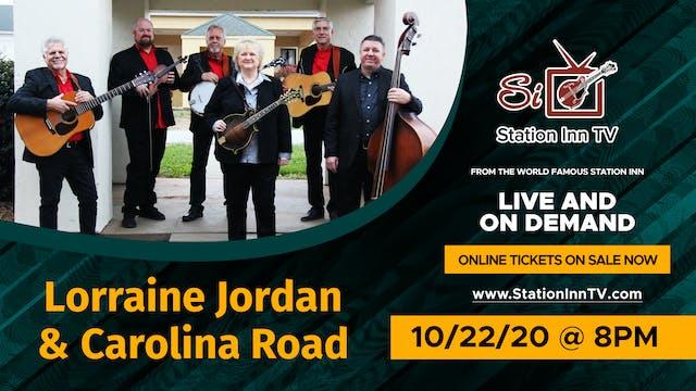 Lorraine Jordan & Carolina Road | October 22, 2020