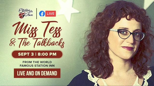 Miss Tess & The Talkbacks | September 3, 2020
