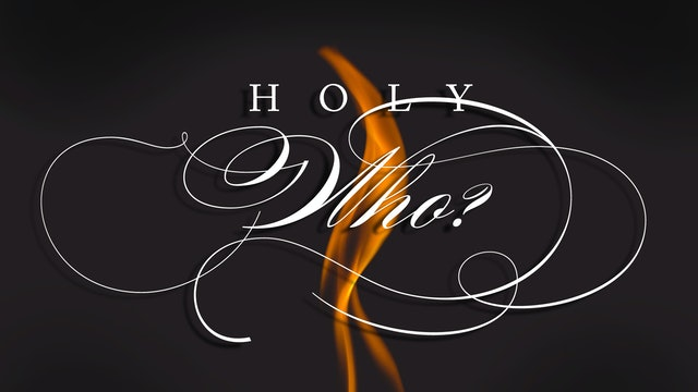 Holy Who Sermon Booklet