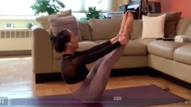 Pilates Fusion with Giovanna Accinelli (4/12/20)