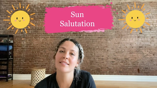 Sun Salutations with Kira Nichols from Budding Buddhas