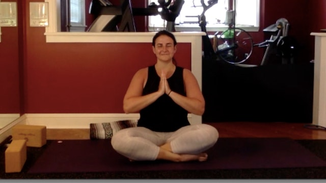 Yoga Work Break with Caroline Martinez-Zuber and Jillian Tiburzi