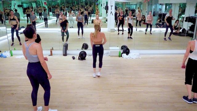 Bonus Dance Cardio with Tracy 11.27.19 Back Angle