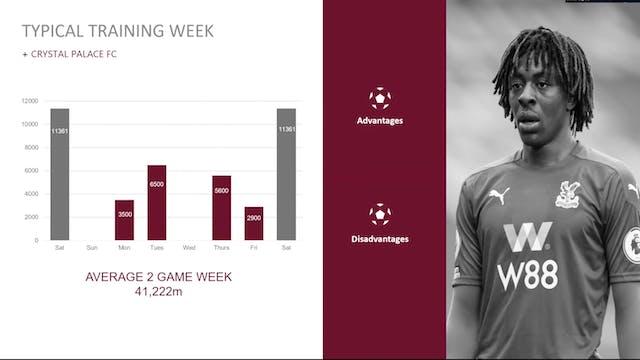 Scott Guyett: Managing the three-game week at Crystal Palace