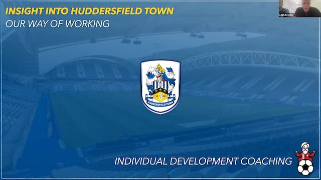 Huddersfield Town staff: An individual way of working across a club