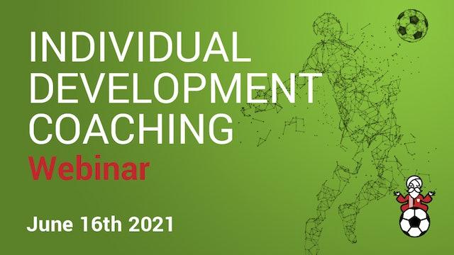 Individual Development Coaching Webinar