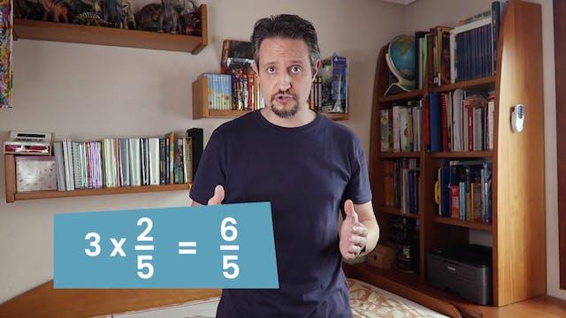 6ºPrim. Mates. Fracción por un número...
