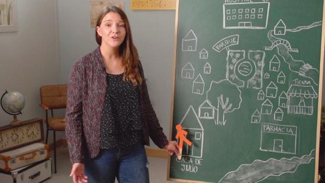 1ºPrim. Lengua. Expresa situación de objetos lugares y personas. Vídeo