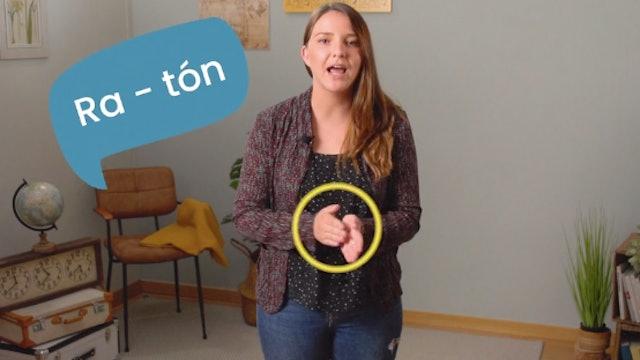 1ºPrim. Lengua. Letras y sílabas. Vídeo