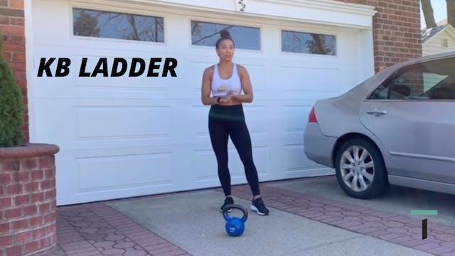 Ladder leg focused workout