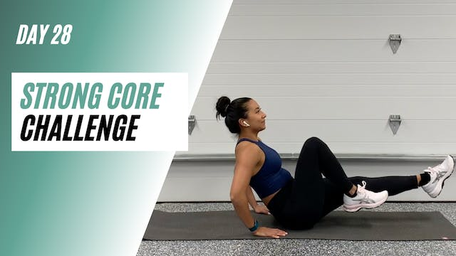 Day 28 of STRONG CORE