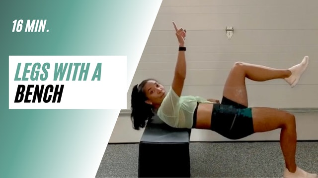 16 min. Legs with a bench