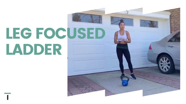Ladder leg focused workout
