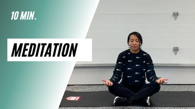 10 min. Meditation