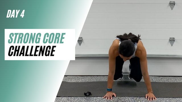 Day 4 of STRONG CORE