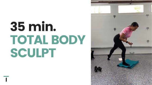 35 min. Total body sculpt
