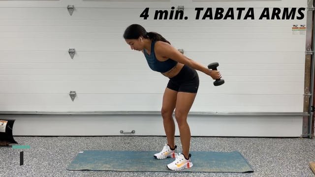 4 min. Tabata arms