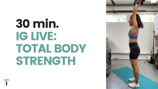 30 min. Total body strength