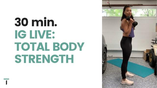 IG live - 30 min. Total body strength