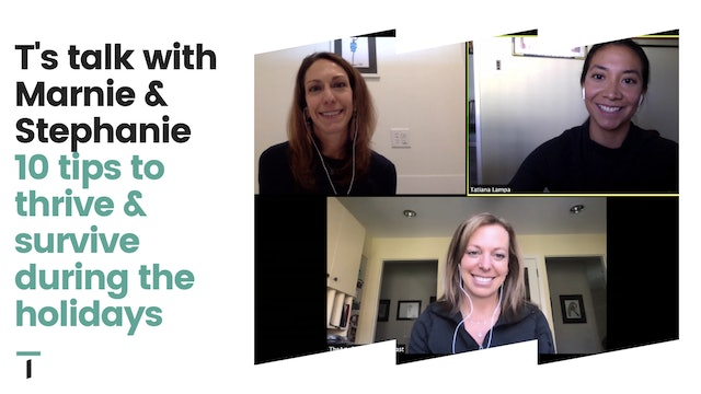 T's Talk with Founders of Art of Living Well Podcast