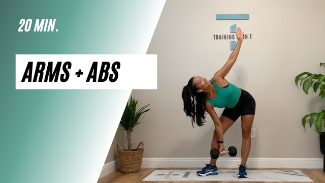 20 min. arms + abs