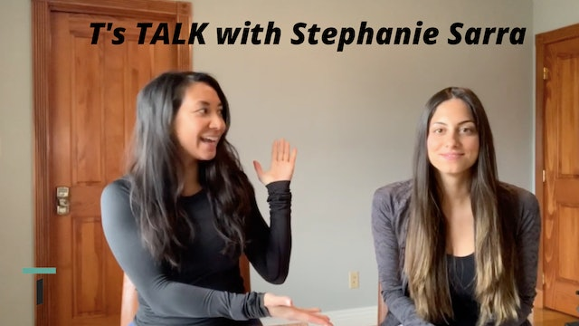 T's Talk with Registered Dietitian Stephanie Sarra