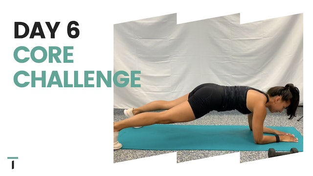 Day 6 of the CORE CHALLENGE