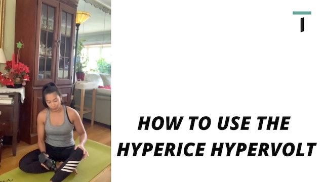 How to use the hypervolt