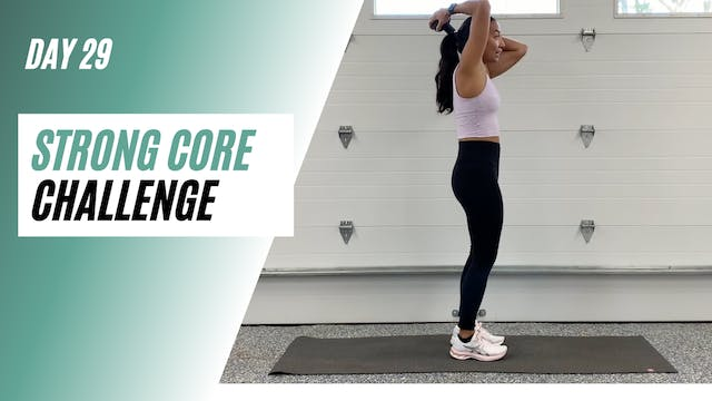 Day 29 of STRONG CORE